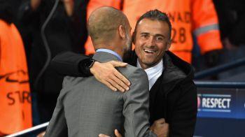 """Reactia lui Pep Guardiola dupa ce Luis Enrique a anuntat ca pleaca de la Barcelona: """"Sunt suparat!"""""""