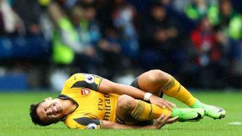 Veste HORROR pentru Arsenal dupa infrangerea cu WBA! Alexis Sanchez poate rata restul sezonului