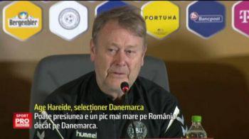 """Danezii au venit pregatiti, dar n-au castigat in deplasare de doi ani. Age Hereide: """"Presiunea e mai mare pe voi"""""""