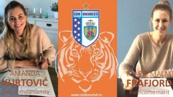3 medalii olimpice de aur si 4 mondiale vin la Bucuresti! Superloviturile anuntate de CSM Bucuresti, dupa ce si-a asigurat titlul