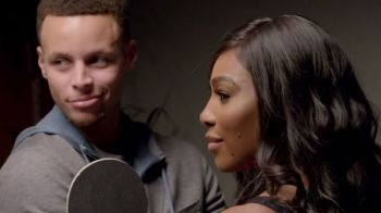 VIDEO Ce se intampla in 50 de secunde, cand Serena Williams si Stephen Curry sunt inchisi intr-o camera