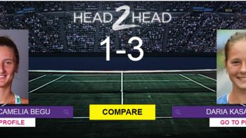 VIDEO Faza zilei in tenis! Ce a facut adversara Irinei Begu la finalul meciului din optimi