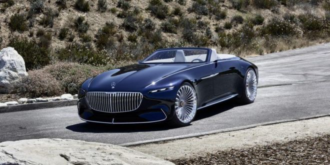 GALERIE FOTO: senzationalul Vision Mercedes-Maybach6 Cabriolet