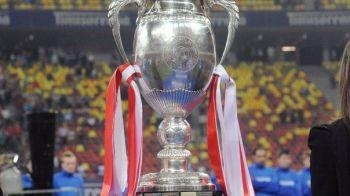 Finala Cupei PLEACA de pe National Arena. Surpriza: FRF a decis sa mute meciul cu trofeul pe masa pe un stadion mai mic