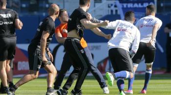 ULTIMA ORA   Liga franceza ia in calcul EXCLUDEREA din campionat dupa incidentele de la Bastia - Lyon