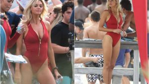"""Ea este blonda fatala care a inlocuit-o pe Pamela Anderson in """"Baywatch"""". Cum arata corpul ei"""