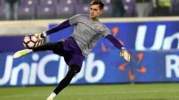"""""""Ianis este fratele mai mic!"""" Tatarusanu a acordat un interviu pentru Gazzetta dello Sport! Ce spune despre situatia de la Fiorentina"""