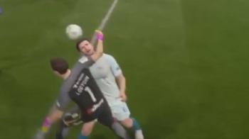 Poarta care explodeaza, fantoma de la vestiar si atacantul gigant! VIDEO FUNNY: Cele mai tari erori de la FIFA 17 :)