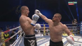 "Cum arata ""Palitura Moldoveneasca"", lovitura cu care Morosanu si-a distrus adversarul aseara! VIDEO"