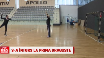 Secretul pe care Andreea Marin l-a dezvaluit abia acum: a rememorat vremurile in care juca handbal si a mers la antrenamentul CSM-ului