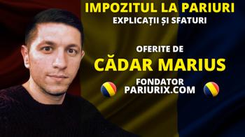 (P) Explicatii si sfaturi practice de la Cadar Marius despre impozitul de la pariuri online