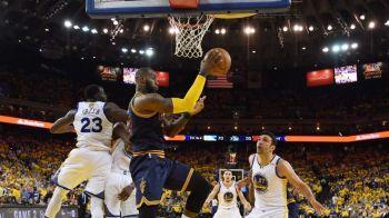 A inceput finala NBA! Warriors au castigat primul meci cu Cavaliers! Citeste aici cronica unei partide fenomenale!