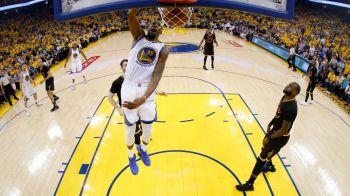 Warriors, de neoprit! Cu Durant, Love si Curry in forma senzationala, s-au impus in fata lui Cleveland cu 132 - 113