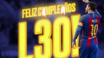 L30 Messi implineste azi 30 de ani! Argentinianul a dus fotbalul la un alt nivel pana la aceasta varsta! TOATE RECORDURILE