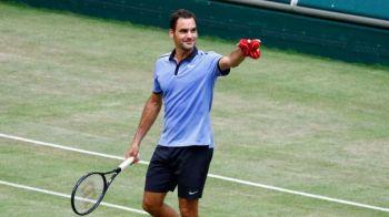 FENOMENTUL Federer! A ajuns la 92 de titluri dupa ce si-a DISTRUS adversarul in 53 de minute in finala de la Halle