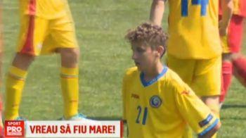 """Fiul lui Gica Popescu a debutat la nationala si si-a dezvaluit visul: """"Mai intai la Viitorul, apoi Barcelona!"""""""