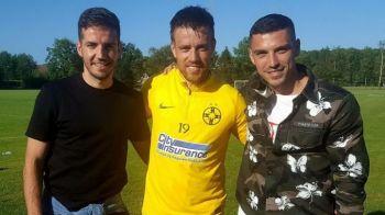 Stanciu si Chipciu au revenit la Steaua pentru o zi. Jucatorii lui Anderlecht si-au vizitat fostii colegi, dar n-au intrat si la joc :)