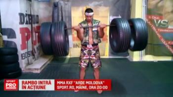 "Rambo aprinde Moldova alaturi de McGregor de Romania si Sandu Lungu! Gala MMA ""Arde Moldova"" e AZI la Sport.ro, 20:00"