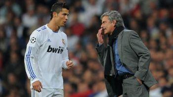 "E dificil sa fii adversarul lui Ronaldo! Mourinho n-a mai rezistat la final: ""Cand a vrut Cristiano, arbitrul a sfarsit jocul"""