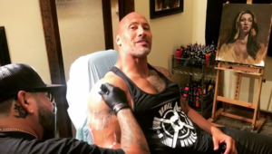 """Ce tatuaj a putut sa-si faca The Rock pe brat, peste taurul pe care il avea de ani intregi: """"E viata mea aici"""". FOTO"""
