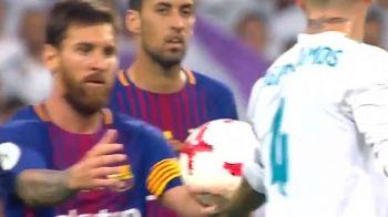 S-a aflat ce i-a spus Messi lui Ramos! Capitanul Barcei si-a INJURAT adversarul de mama! VIDEO