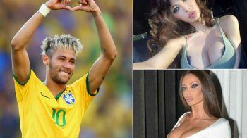 Fosta lui Neymar a tinut fotografii lipiti de ea. Nimeni nu si-a mai putut lua privirea cand a aparut imbracata ASA