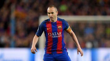 Mai cade un ZEU din superechipa Barcelonei? Alerta in cazul lui Iniesta! Ce declaratii SOC a facut