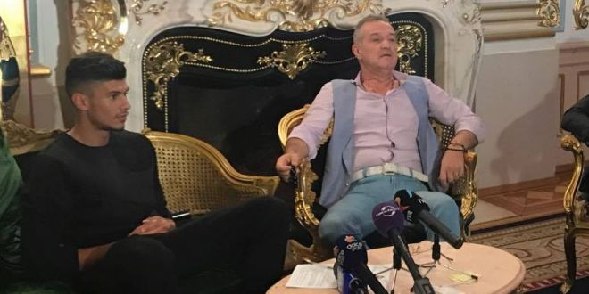 Becali i-a pus clauza 100 de milioane de euro lui Coman.  Trebuie sa lasi tigara, sa te sacrifici... bine, mai putin femeile  :))
