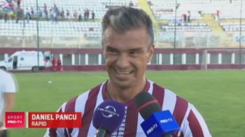 La 40 de ani, Pancu a debutat la NOUL Rapid cu pasa de gol, in victoria cu 4-0. VIDEO