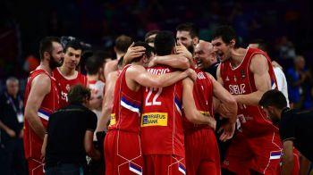 Serbia s-a calificat in marea finala la Eurobasket dupa o victorie senzationala cu Rusia! Slovenia, adversara-surpriza din lupta pentru trofeu