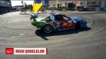 Drifturi senzationale pe strazile din Craiova! Anamaria Popescu a fost copilot! VIDEO