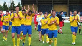 Echipa romanilor din Anglia a gasit un sponsor care l-ar face invidios chiar si pe Gigi Becali :)