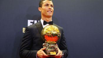 Cristiano Ronaldo si-a vandut Balonul de Aur! Trofeul, cumparat cu un munte de bani de fiul unui afacerist nascut in ROMANIA