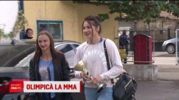 Din cusca de MMA la prezentari de moda e doar un pas! Printesa Razboinica a Olteniei merge cu leul dupa ea :)