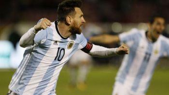 """""""Slava Domnului, am reusit! Ar fi fost o nebunie sa fim eliminati!"""" Reactia lui Messi dupa cele 3 goluri care au salvat Argentina"""
