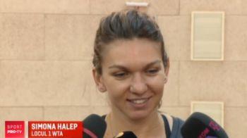 """Acum e timpul sa castig un Grand Slam!"" Moment superb pentru Simona Halep VIDEO"