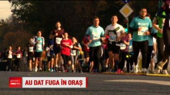 Senzational! Au venit de la Los Angeles si din EVUL MEDIU pentru Maraton! Cine a alergat azi la Bucuresti
